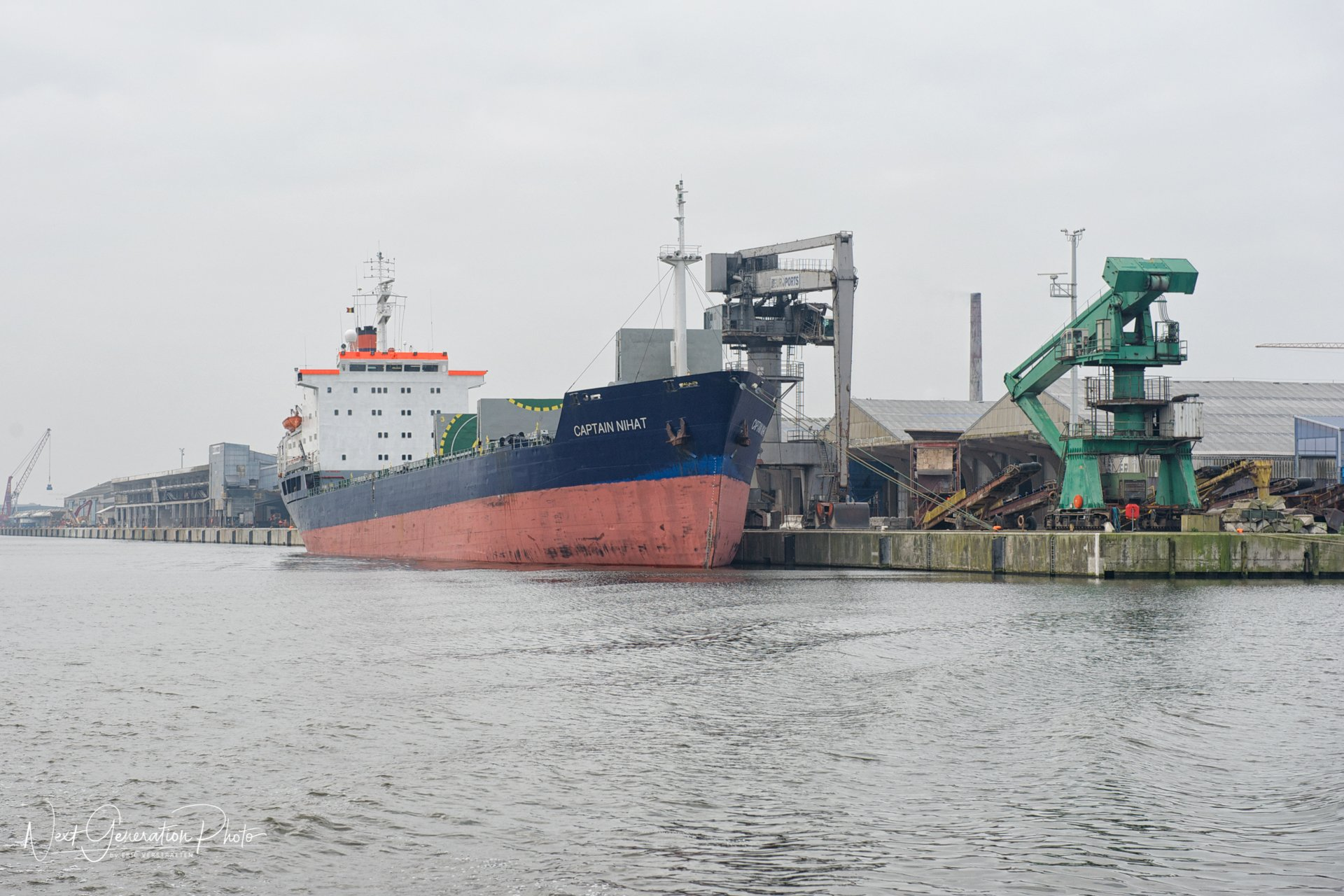 Captain Nihat, Grootdok - Port of Ghent 2014-04-05 (1)